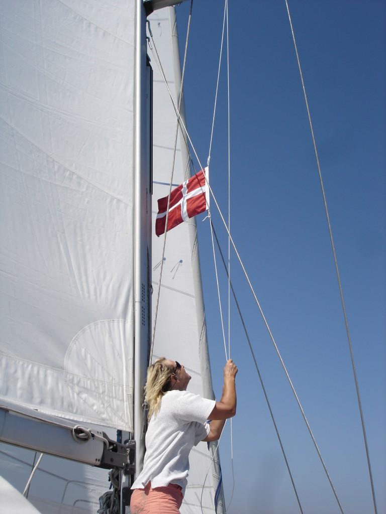 Gastflagge Dänemark