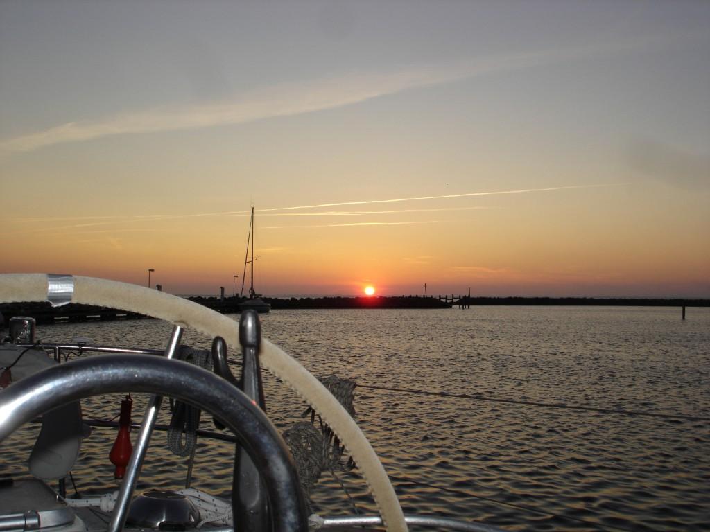 Gedser Sonnenuntergang