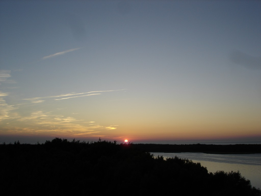 Sonnenuntergang Barhöft