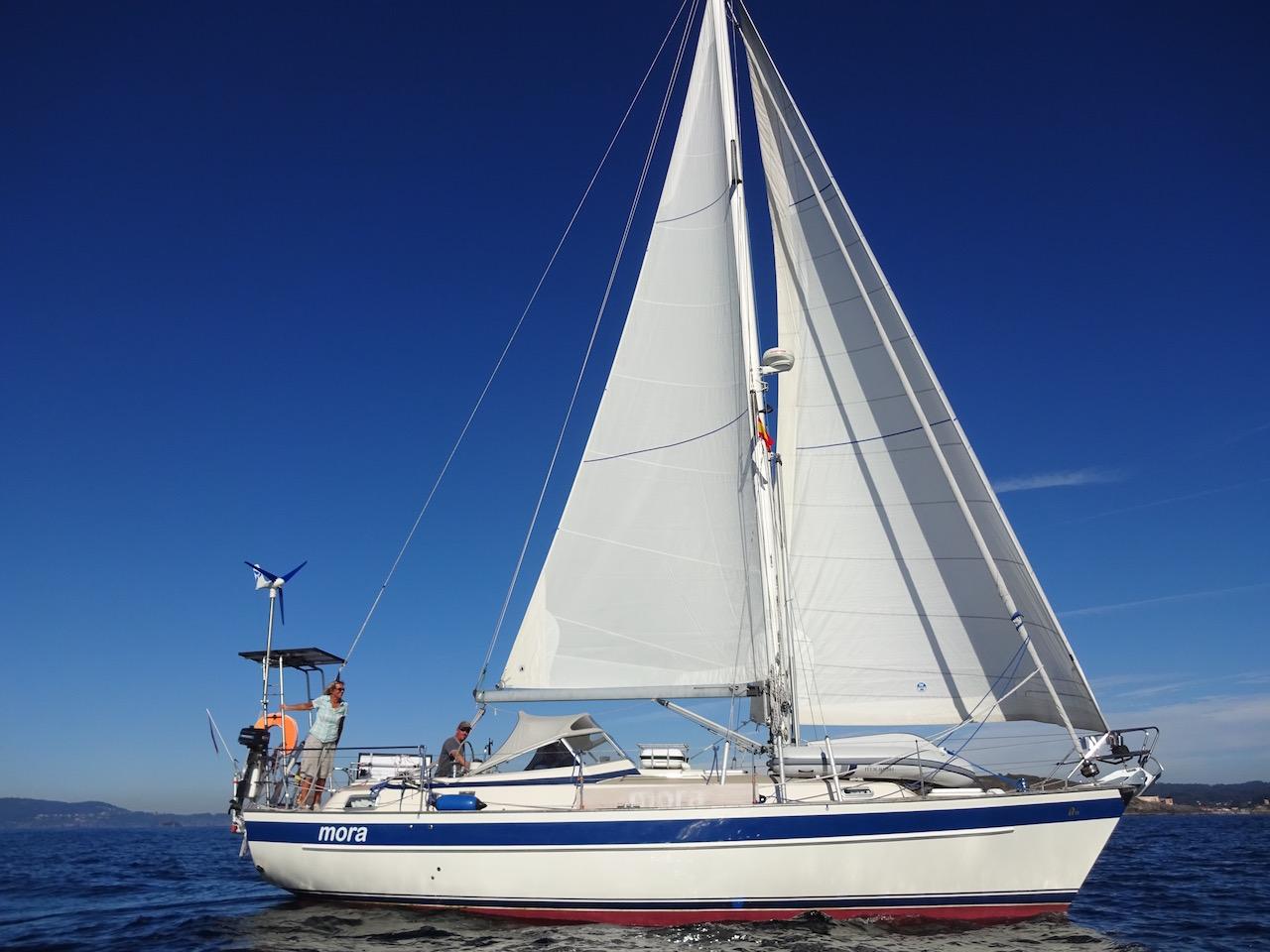 so schön ist unser Boot!