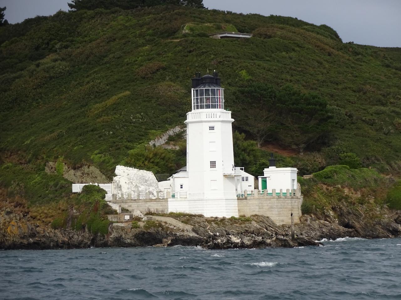 Einfahrt in die Bucht von Plymouth