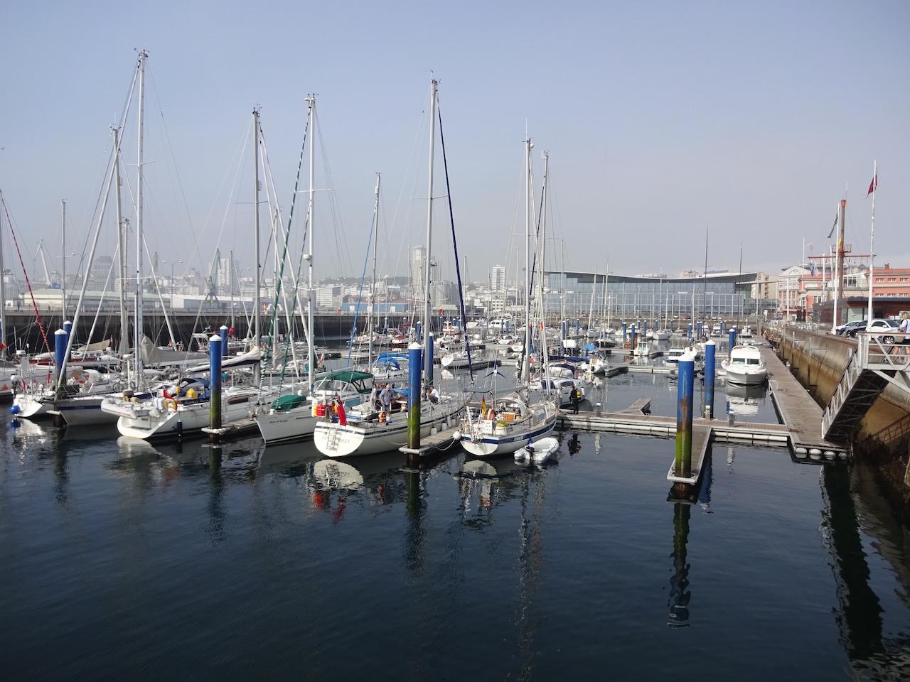 Im Hafen von A Coruna