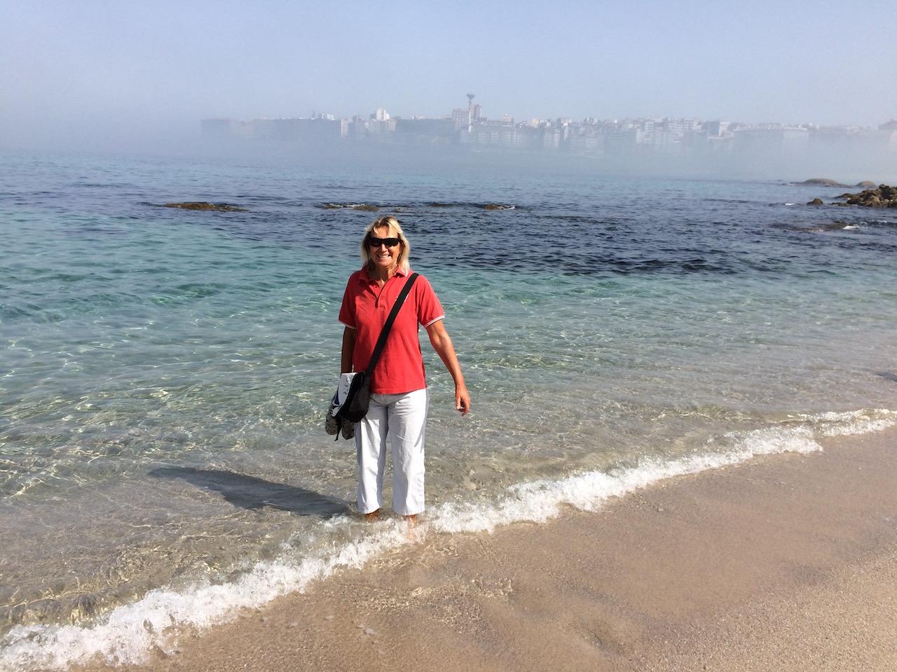 Kneifbad im Atlantik