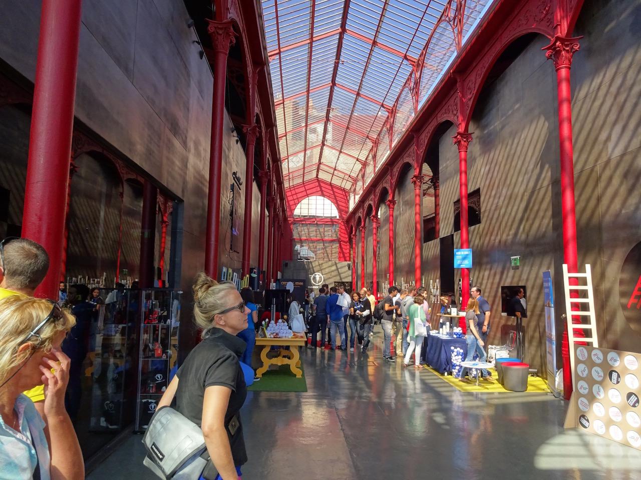 ein Kulturzentrum in der alten Markthalle