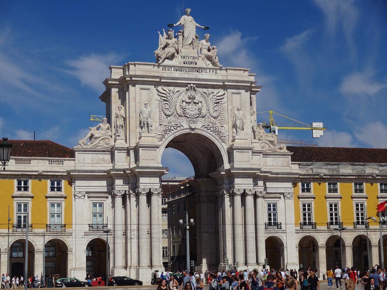 Arno da Rua Augusta- der Eingang zur Innenstadt