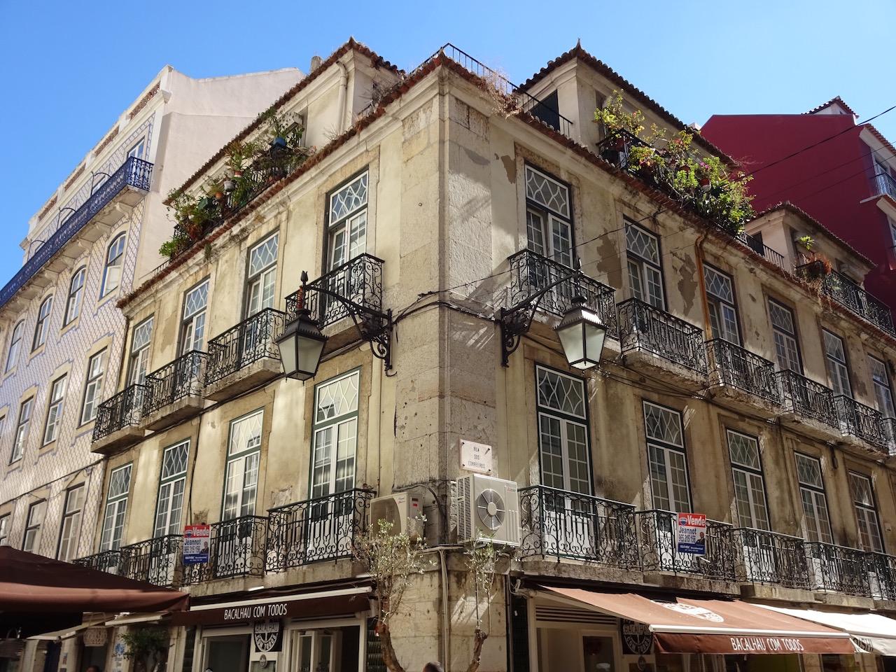 mehr Balkon als Haus