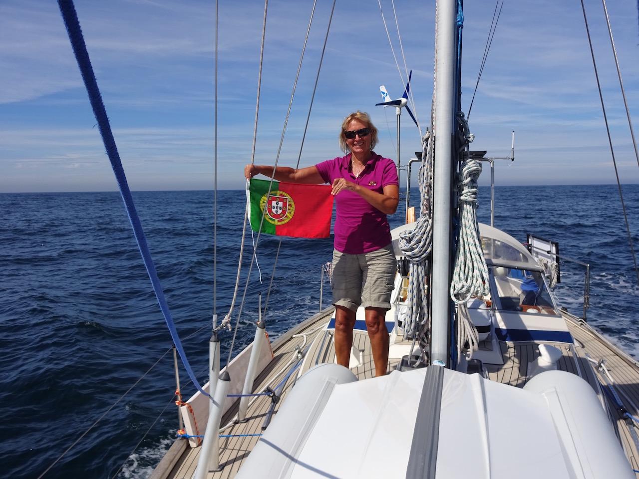 Gastlandflagge die sechste