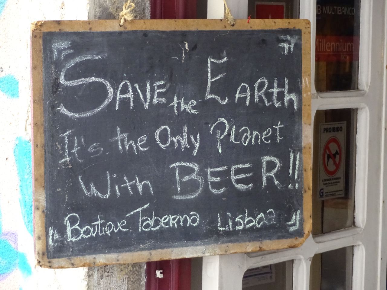 Rettet die Erde!