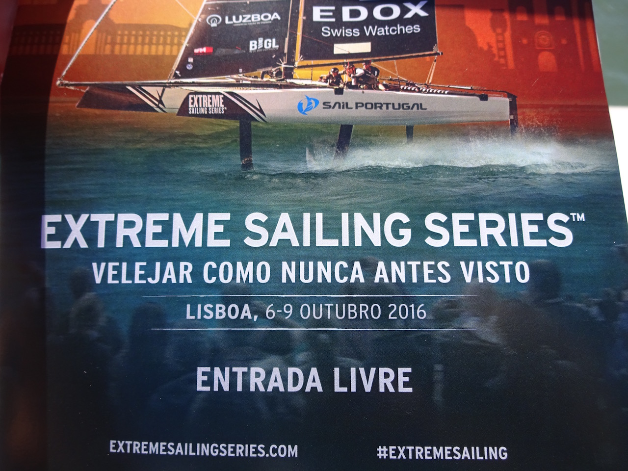 die Extrem Sailing Serie macht Station in Portugal