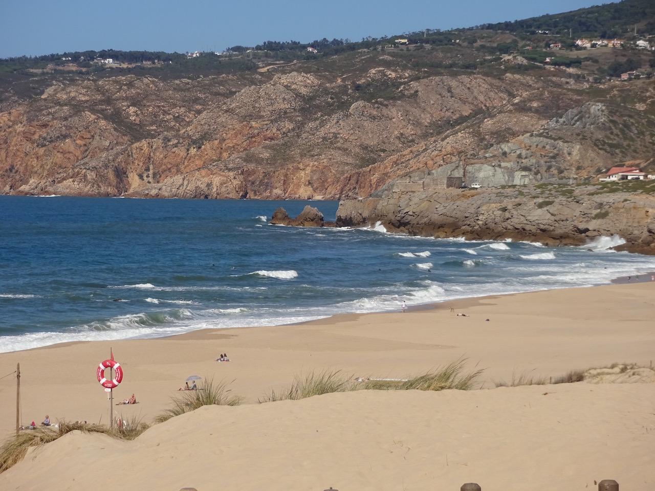 einsamer Badestrand in der Nähe des Cabo de Roca