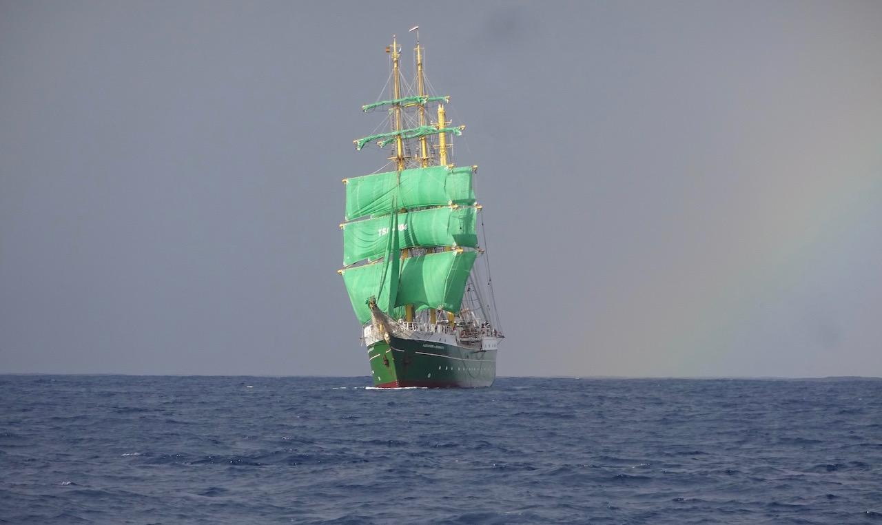 das Bier-Schiff aus meinem Traum ist Wirklichkeit geworden
